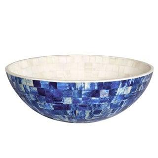 Congo Indigo Large Decorative Bowl