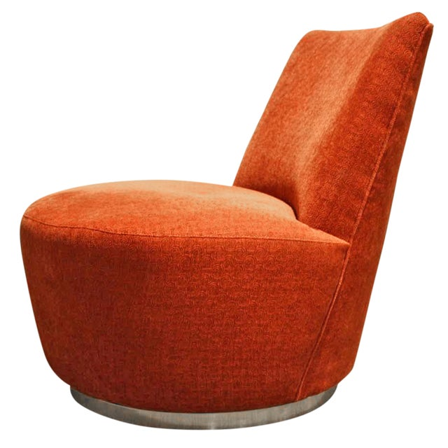 Thayer Coggin Jo Swivel Chair - Image 1 of 6