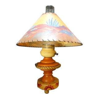 1936 Antique Monterey Table Lamp