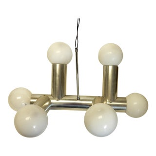 Robert Haussmann Swiss Mid-Century Modern Atomic Chandelier