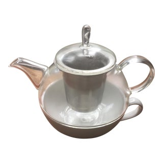 Tea Pot With Steeper & Cup
