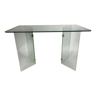Pace Collection Glass Dining/Console Table