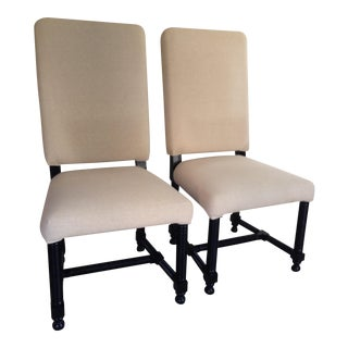 Noir Spanish Chairs - A Pair