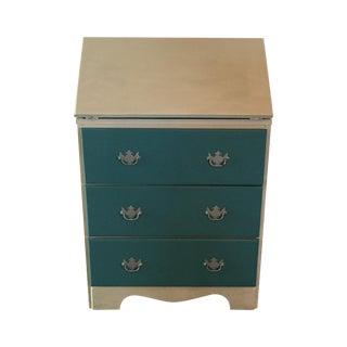 Teal Secretary/Dresser