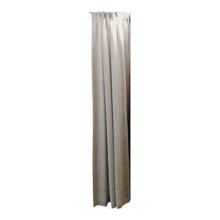 Taupe Linen Drapes - A Pair