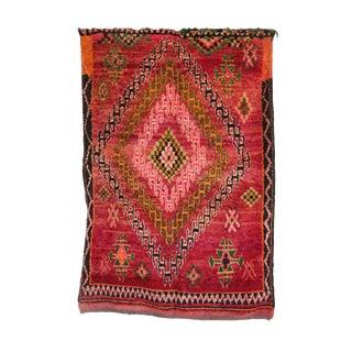 """Vintage Boujad Moroccan Rug - 5'8"""" x 8'7"""""""