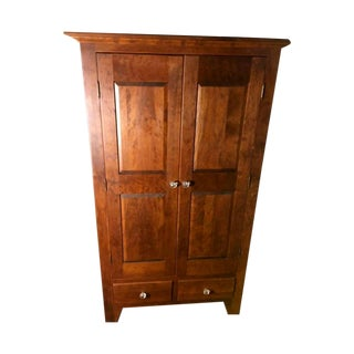 Cherrywood Bork Holder Armoire