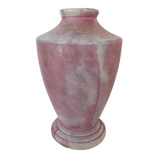 Vintage Burley-Winter Footed Vase