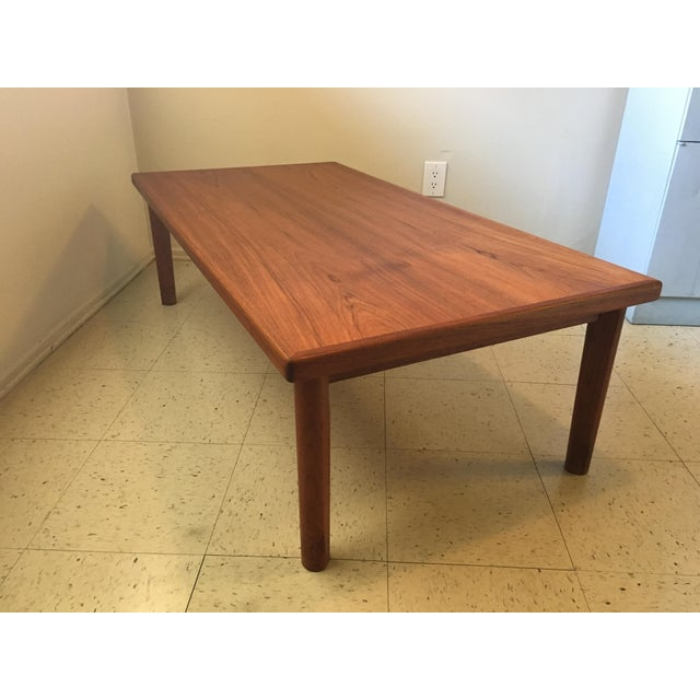 Brdr Furbo Danish Teak Mid Century Coffee Table