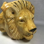 Image of Mid-Century Lion Head Planter or Vase