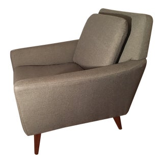 1958 Vintage Folke Ohlsson for DUX Lounge Chair