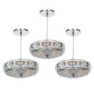 French Vintage Baccarat Cut Crystal Fixtures
