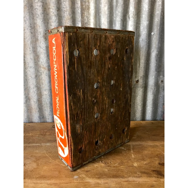Image of Vintage Royal Crown Soda Crate