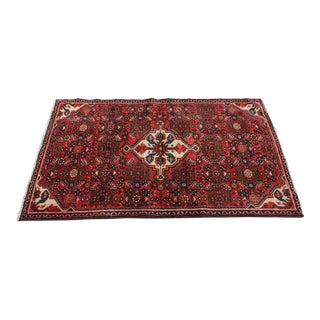 """Antique Persian Lilihan Rug 3'4"""" X 5'7"""""""
