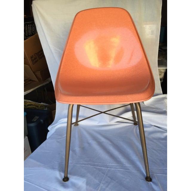 Mid-Century Fiberglass Shell Chair - Image 2 of 4