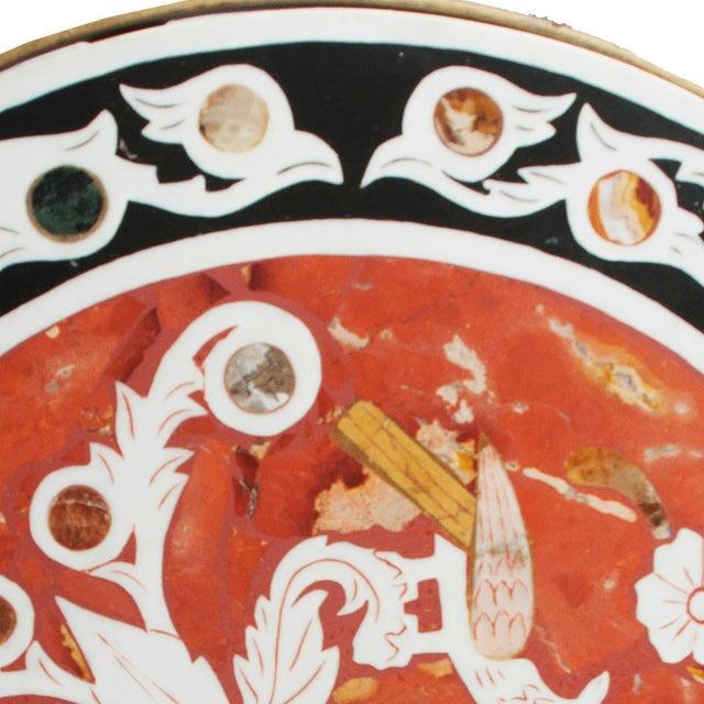 Pietra Dura Mosaic Table - Image 8 of 10