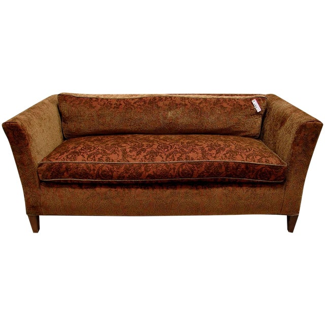 Image of Mid Century Modern Drexel Loveseat Sofa