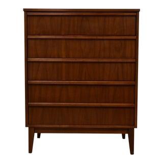 Dixie Walnut & Formica Dresser