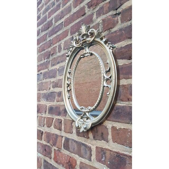 Silver Victorian Mirror - Image 4 of 4