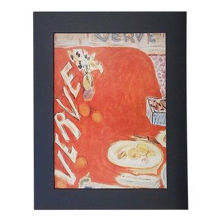 1939 Vintage Matisse Lithograph-Verve-Paris