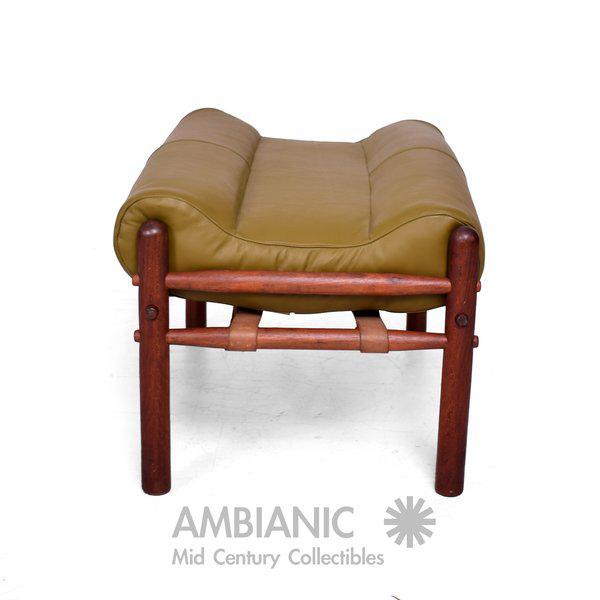 """Arne Norrel """"KONTIKI"""" Pair of Safari Chairs - Image 7 of 11"""