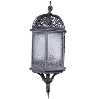 Old Wrought Iron Lantern