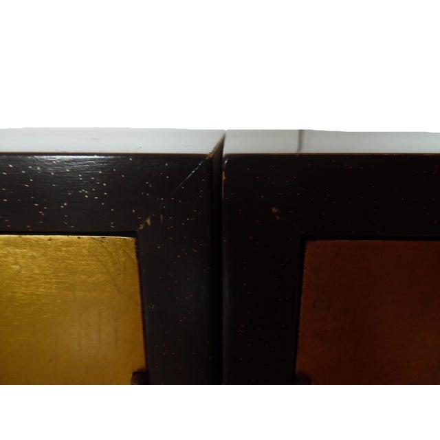 Renzo Rutili Chinoiserie Gold Cabinet - Image 7 of 10