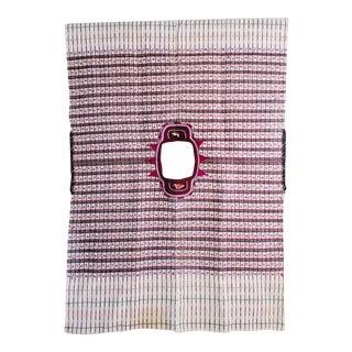 Boho Chic Fabric Textile Art Poncho Moroccan