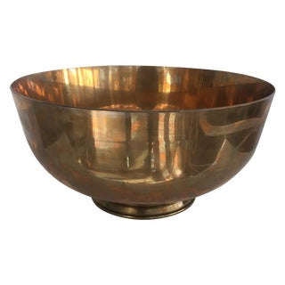 Brass Equestrian Trophy Bowl