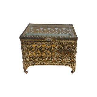 Filagree Trinket Box
