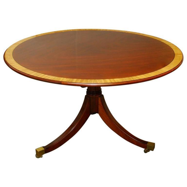 Kindel Georgian Mahogany Breakfast Table