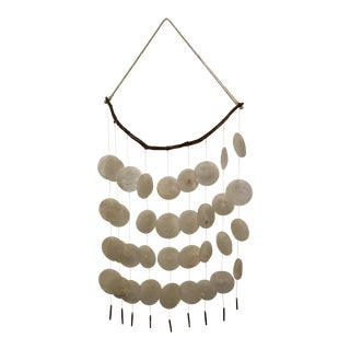 Boho Chic Capri Shell Wall Hanging