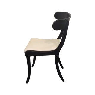 1930s Ebonized Klismo Chairs - Set of 4