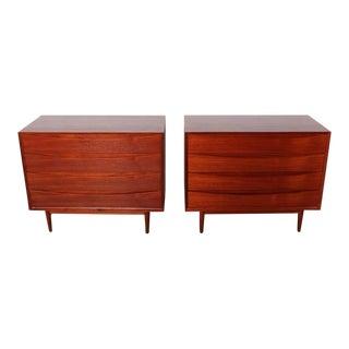 Pair of Teak Dressers by Arne Vodder for Sibast