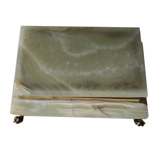 Hinged Onyx Box