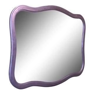 Silver Leaf Entry Mirror