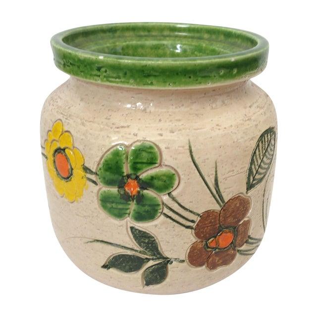 Mid-Century Floral Rosenthal Netter Vase - Image 1 of 6