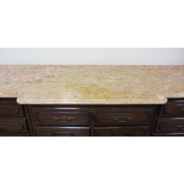 French Traditions Marble Top Buffet - Image 4 of 10