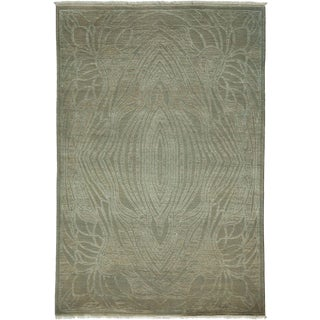 """Shalimar, Hand Knotted Area Rug - 4' 3"""" x 6' 2"""""""