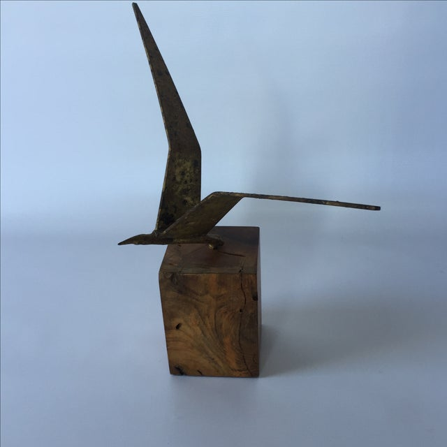 Curtis Jere Brass Seagull - Image 3 of 6