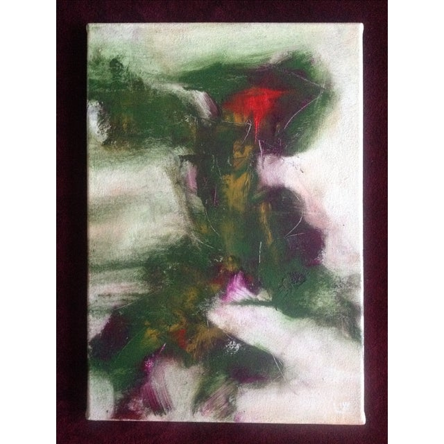 """Memory Conformity"" Oil and Charcoal Painting - Image 2 of 4"