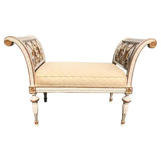 Swedish Neoclassical Bench