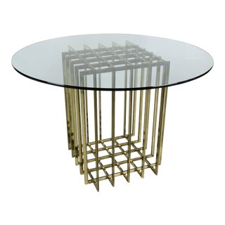 Pierre Cardin Cage Form Dining Table Base