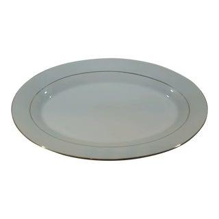 Classic Gold Porcelain Platter