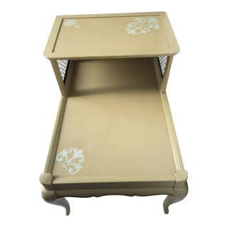 Vintage 2 Tier Side Table