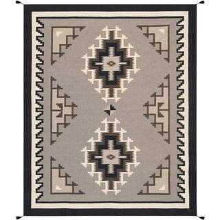 "Navajo Hand Woven Area Rug - 7'9"" x 10'"