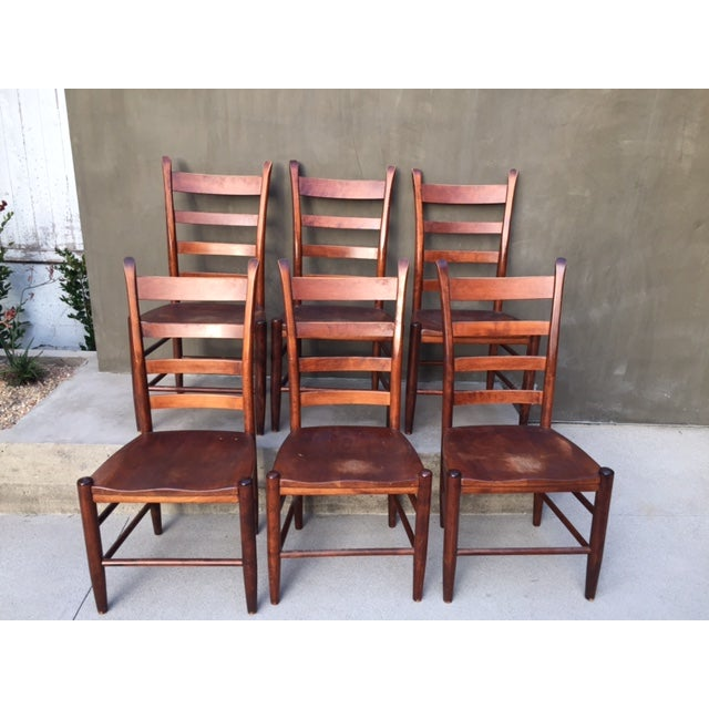 Nichols And Stone Chairs - Set of 6 - Image 2 of 8
