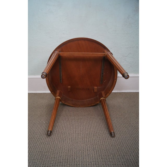Henredon French Louis XVI Walnut Tables - A Pair - Image 8 of 10