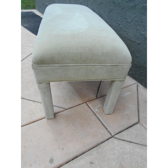 Upholstered Parsons Bench - Image 6 of 7
