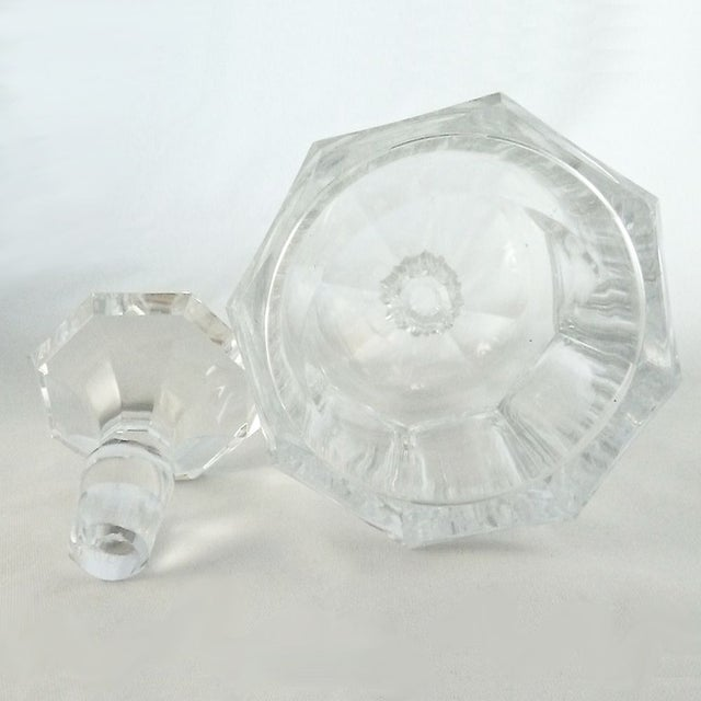 Vintage Val St. Lambert Crystal Decanter - Image 2 of 3